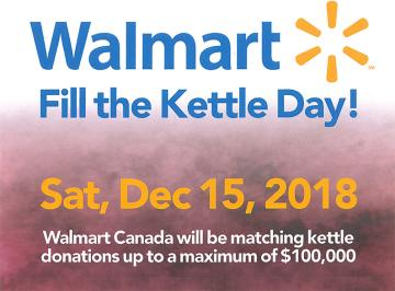 Walmart Fill the Kettle Day