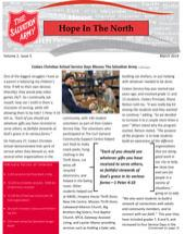 Hope in The North - March 2019