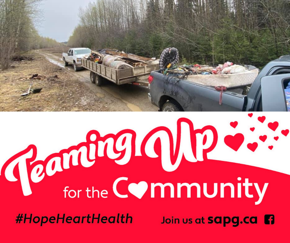Teaming Up for the Community - Clean Up